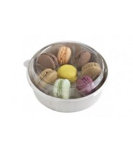 Composez votre de  7 macarons message prédéfini / bento box 7 macarons