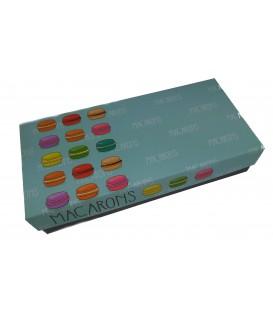Composez votre boite de 20 macarons personnalisés /coffret Antibes  20 macarons personnalisés