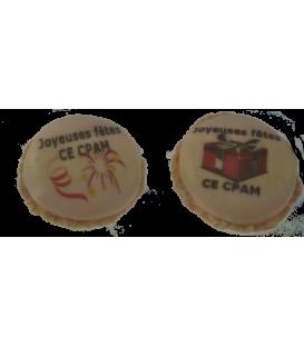 Macaron CE caisse primaire d'assurance maladie