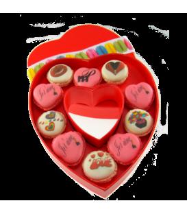 Boite coeur personnalisée Saint Valentin 1