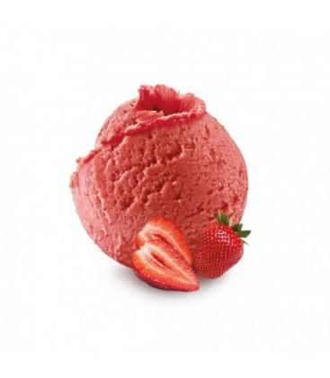 Bac de glace artisanale à emporter 750 ml fraise senga