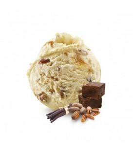 Bac de glace artisanale à emporter 750 ml Vanille Pecan Fudge