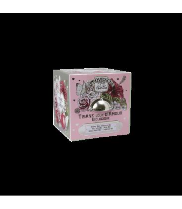Tisane Jour d'Amour Biologique- Cube métal