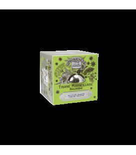 Tisane Marseillaise Biologique- Cube Métal