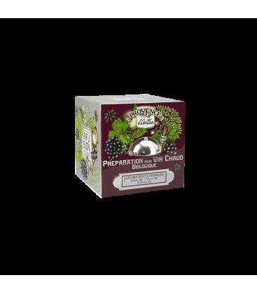 Préparation pour Vin Chaud biologique- Cube Métal