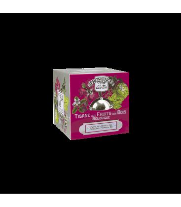 Tisane Fruits des Bois Biologique- Cube métal