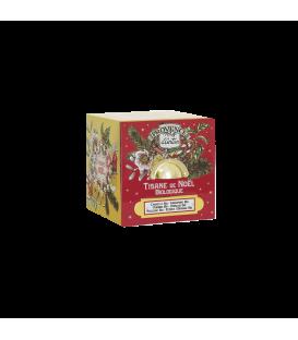 Tisane de Noël Biologique- Cube Métal