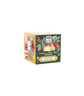 Tisane du Père Noël Biologique- Cube Métal