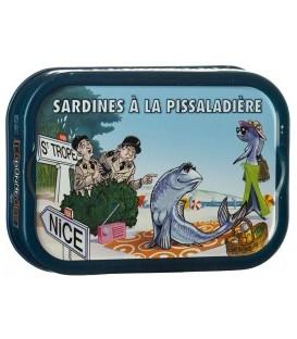 Sardines à la pissaladière