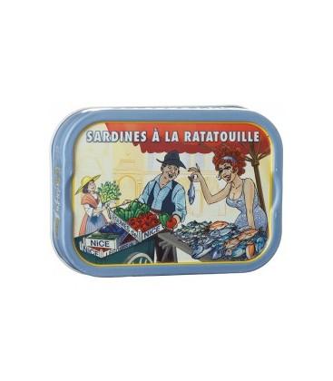 Sardine à la ratatouille