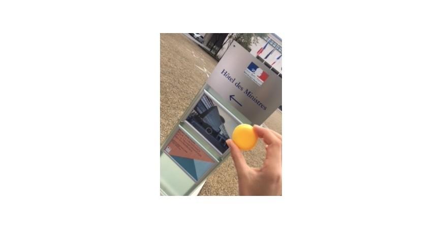 Digne-les-Bains : les macarons de Gilles Chrismann en compétition à Paris Bercy !